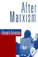After Marxism