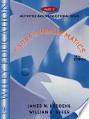 Today's Mathematics, Activities and Instructional Ideas