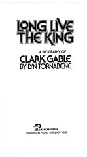 Pdf Long Live the King : a Biography of Clark Gable