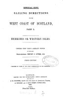 Pdf Sailing Directions for the West Coast of Scotland