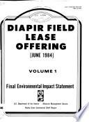 Proposed Diapir Field Lease Offering June 1984