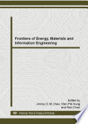 Frontiers of Energy  Materials and Information Engineering