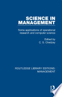 Science in Management