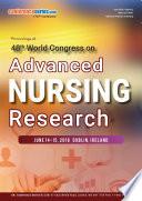 Proceedings Of 48th World Congress On Advanced Nursing Research 2018