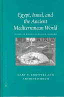 Egypt  Israel  and the Ancient Mediterranean World