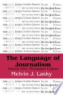 The Language of Journalism