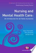 Nursing And Mental Health Care