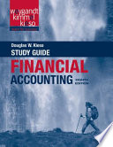 Financial Accounting, Study Guide, 8th Edition