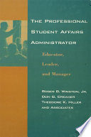 The Professional Student Affairs Administrator Book