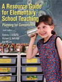 A Resource Guide for Elementary School Teaching Book