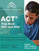 ACT Prep Book 2021 and 2022