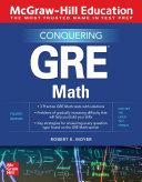 McGraw Hill Education Conquering GRE Math  Fourth Edition