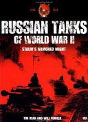 Russian Tanks of World War II Book