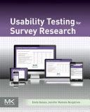 Usability Testing for Survey Research [Pdf/ePub] eBook