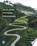 Building Python Programs, Student Value Edition