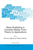 Wave Scattering in Complex Media: From Theory to Applications Pdf/ePub eBook