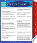 Cpr Choking Relief Book PDF