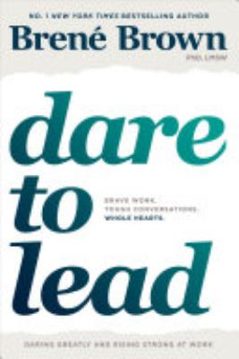 Book cover of 'Dare to Lead' by Brené Brown