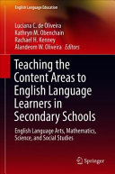 Teaching The Content Areas To English Language Learners In Secondary Schools