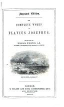 Pdf The Complete Works of Flavius Josephus