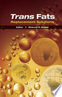 Trans Fats Replacement Solutions Book