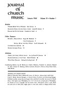 Journal of Church Music Book PDF