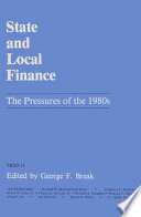 State and Local Finance