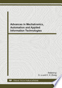 Advances In Mechatronics Automation And Applied Information Technologies Book PDF