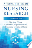 Annual Review of Nursing Research  Volume 34  2016 Book