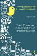 Trust, Power and Public Relations in Financial Markets [Pdf/ePub] eBook