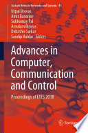 Advances in Computer  Communication and Control