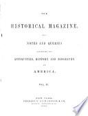 The Historical Magazine