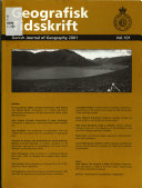 Danish journal of geography