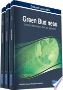 Green Business  Concepts  Methodologies  Tools  and Applications