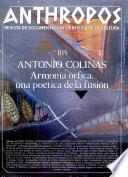 Anthropos Revista de Documentacion Cientifica De La Cutura 105 Armonia orfica, una poetica de la fusion