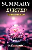 Summary   Evicted Book
