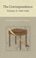 The Correspondence of Henry D  Thoreau