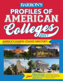 Profiles of American Colleges 2017 Book