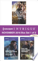 Harlequin Intrigue November 2016 Box Set 1 Of 2