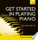 Get Started In Playing Piano Teach Yourself Audio Ebook