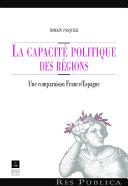 La capacité politique des régions Pdf/ePub eBook