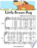 Little Brown Dog   Easiest Piano Sheet Music Junior Edition
