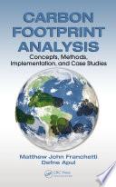 Carbon Footprint Analysis