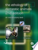 The Ethology of Domestic Animals