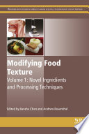 Modifying Food Texture