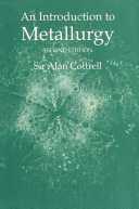 An Introduction to Metallurgy  Second Edition