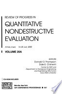 Review of Progress in Quantitative Nondestructive Evaluation - Volume 20A/B