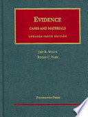 Evidence  : Cases and Materials
