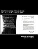Restored Project Blue Book Ufo Files Book