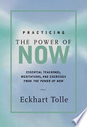 Practicing the Power of Now Book